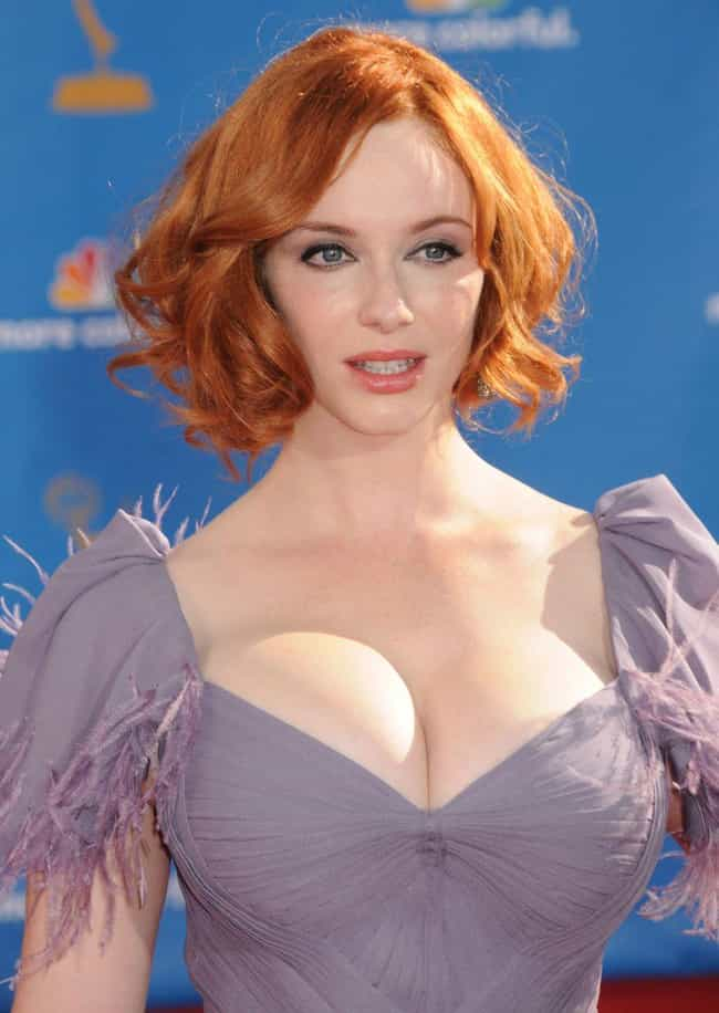 Christina Hendricks Blinded Us... is listed (or ranked) 2 on the list 38 Sexiest Christina Hendricks Pictures