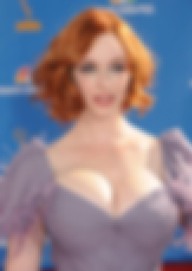 Christina Hendricks Blinded Us... is listed (or ranked) 4 on the list 38 Sexiest Christina Hendricks Pictures