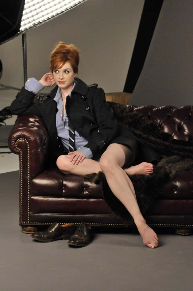 Christina Hendricks Grabbed th is listed (or ranked) 27 on the list 38 Sexiest Christina Hendricks Pictures