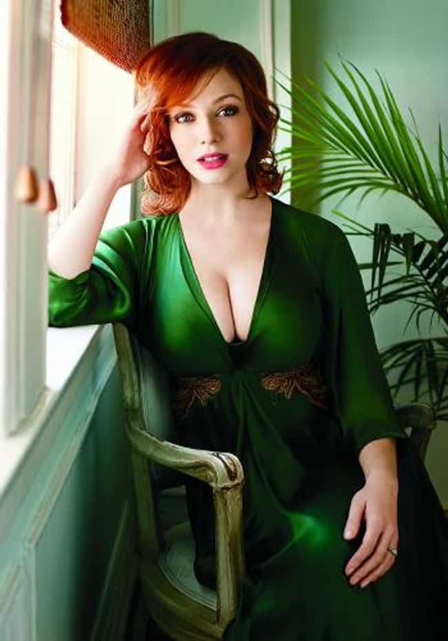 Christina Hendricks Hides the is listed (or ranked) 12 on the list 38 Sexiest Christina Hendricks Pictures