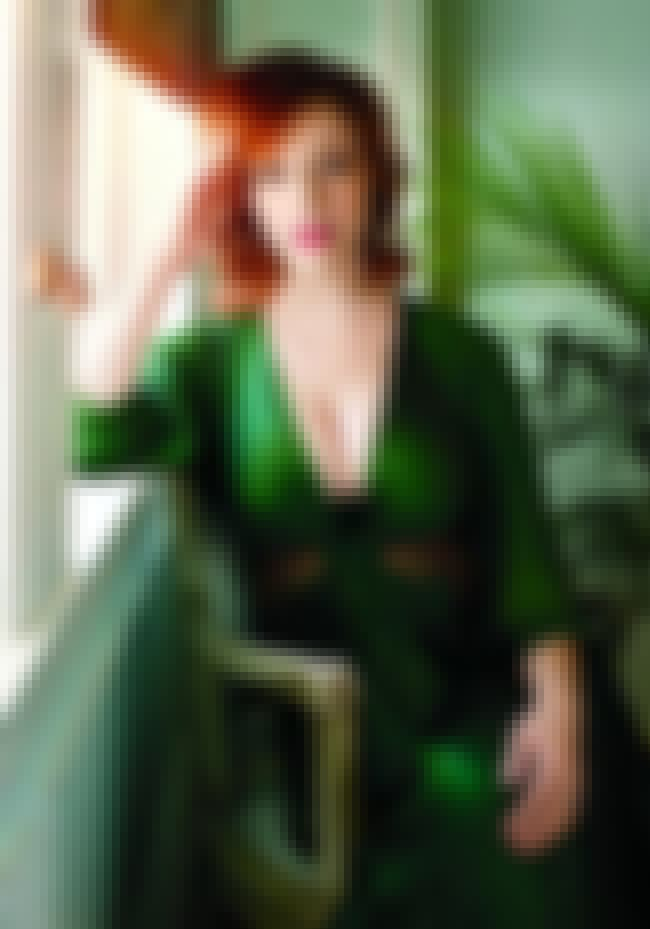 Christina Hendricks Hides the ... is listed (or ranked) 1 on the list 38 Sexiest Christina Hendricks Pictures