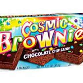 Little Debbie Cosmic Brownies is listed (or ranked) 6 on the list What is Your Favorite Little Debbie Snack?