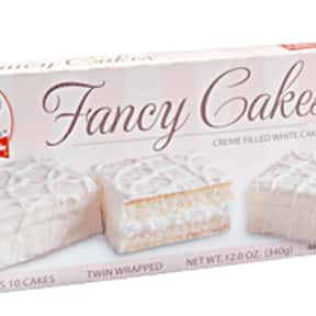 Little Debbie Fancy Cakes is listed (or ranked) 16 on the list What is Your Favorite Little Debbie Snack?