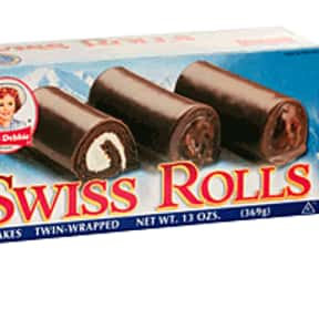 Little Debbie Swiss Rolls is listed (or ranked) 2 on the list What is Your Favorite Little Debbie Snack?