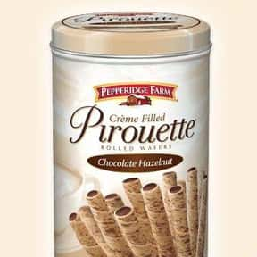 Pirouettes is listed (or ranked) 13 on the list The Best Things to Dip in Chocolate Fondue