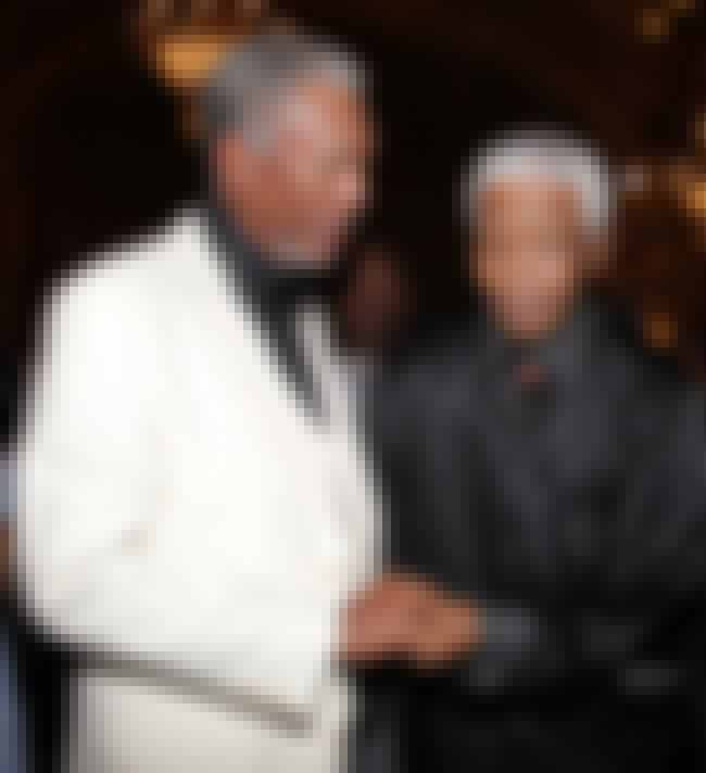 Morgan Freeman and Nelson Mand... is listed (or ranked) 1 on the list 23 Awesome Pics of Actors with People They Played in Movies
