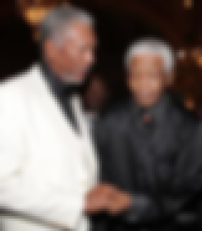 Morgan Freeman and Nelson Mand... is listed (or ranked) 2 on the list 23 Awesome Pics of Actors with People They Played in Movies