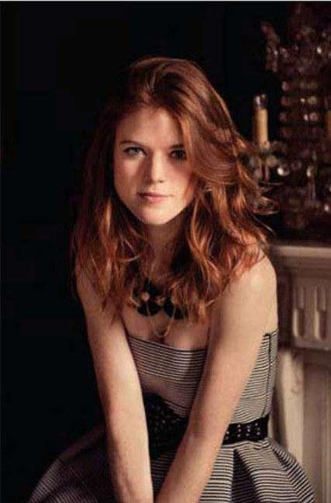 Rose Leslie Wearing The Least Is Listed Or Ranked  On