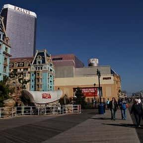 Atlantic City Boardwalk is listed (or ranked) 23 on the list The Best Of The Most Visited Tourist Destinations in America
