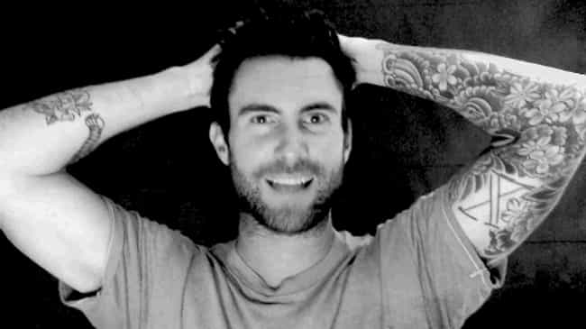 X Mark is listed (or ranked) 7 on the list Adam Levine Tattoos