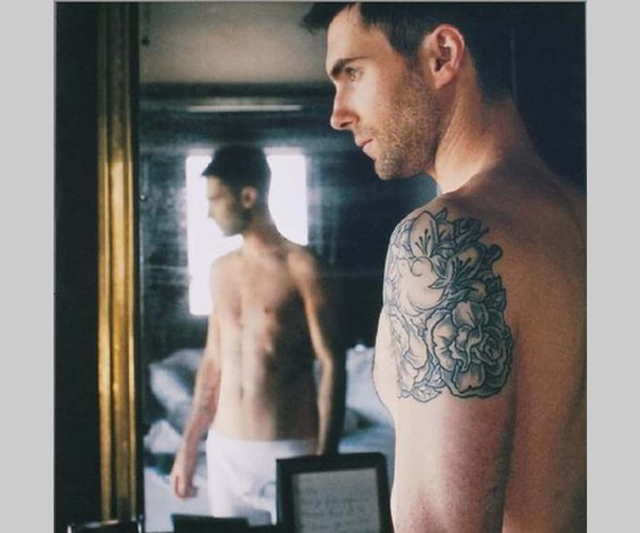 Rose is listed (or ranked) 1 on the list Adam Levine Tattoos