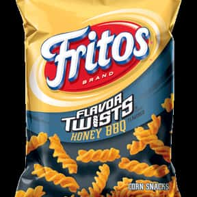 Fritos Honey BBQ Twist is listed (or ranked) 21 on the list The World's Most Delicious Chips, Crisps & Crunchy Snacks