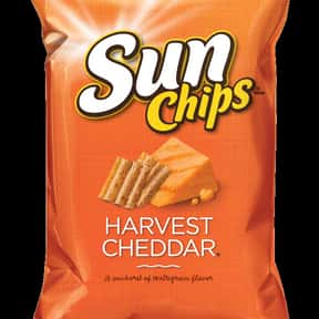 Sunchips Harvest Cheddar is listed (or ranked) 13 on the list The World's Most Delicious Chips, Crisps & Crunchy Snacks