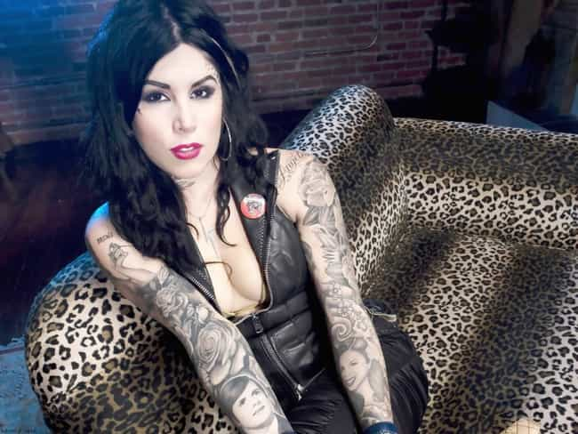 Kat Von D's Dad is listed (or ranked) 3 on the list Kat Von D Tattoos