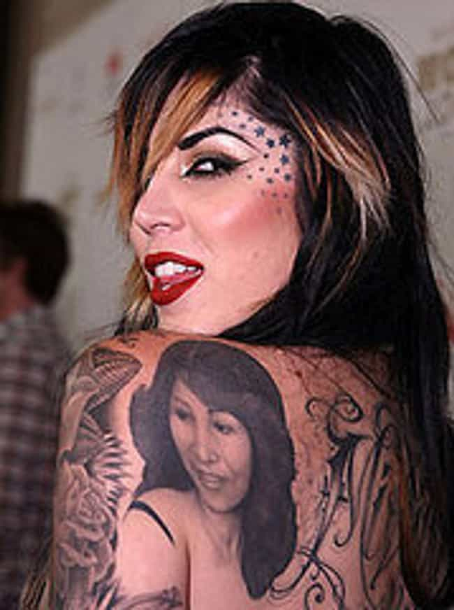 Kat Von D's Mom is listed (or ranked) 2 on the list Kat Von D Tattoos