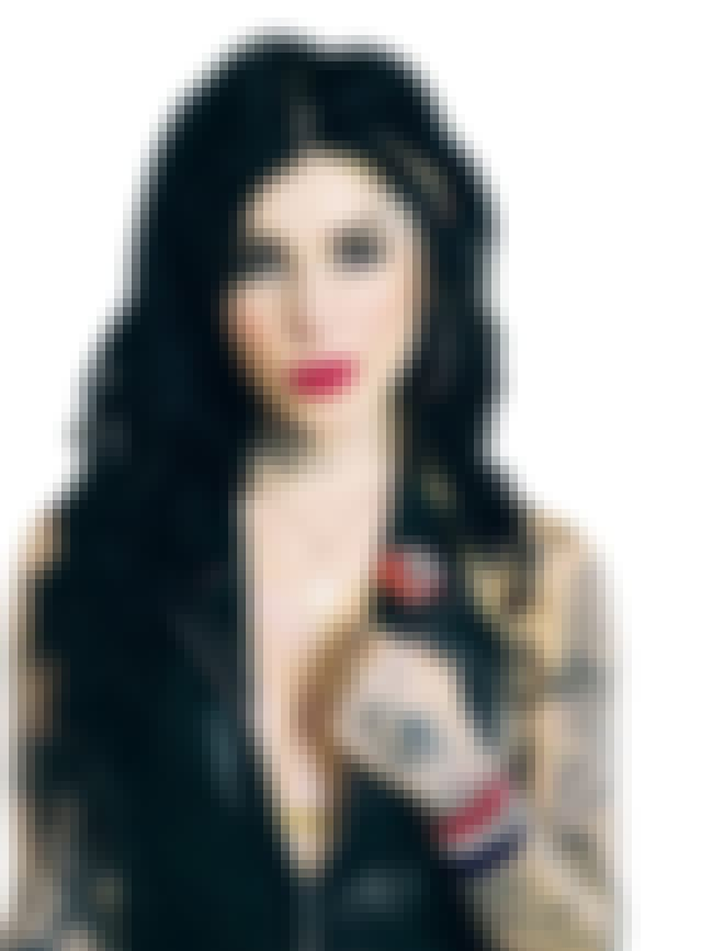 Eye is listed (or ranked) 4 on the list Kat Von D Tattoos