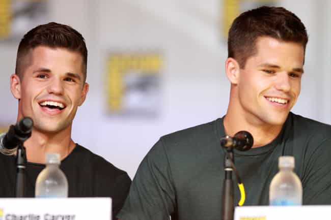 Max and Charlie Carver is listed (or ranked) 3 on the list The Hottest Male Celebrity Twins