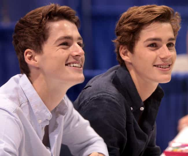 Jack and Finn Harries is listed (or ranked) 1 on the list The Hottest Male Celebrity Twins