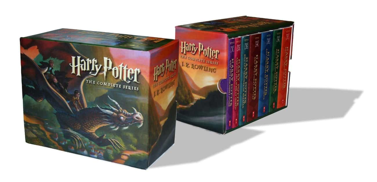 The Harry Potter Series is listed (or ranked) 3 on the list Books That Defined Your Youth That You (Almost) Forgot About