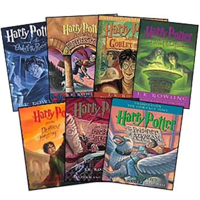 The Harry Potter Series ... is listed (or ranked) 3 on the list Books That Defined Your Youth That You (Almost) Forgot About