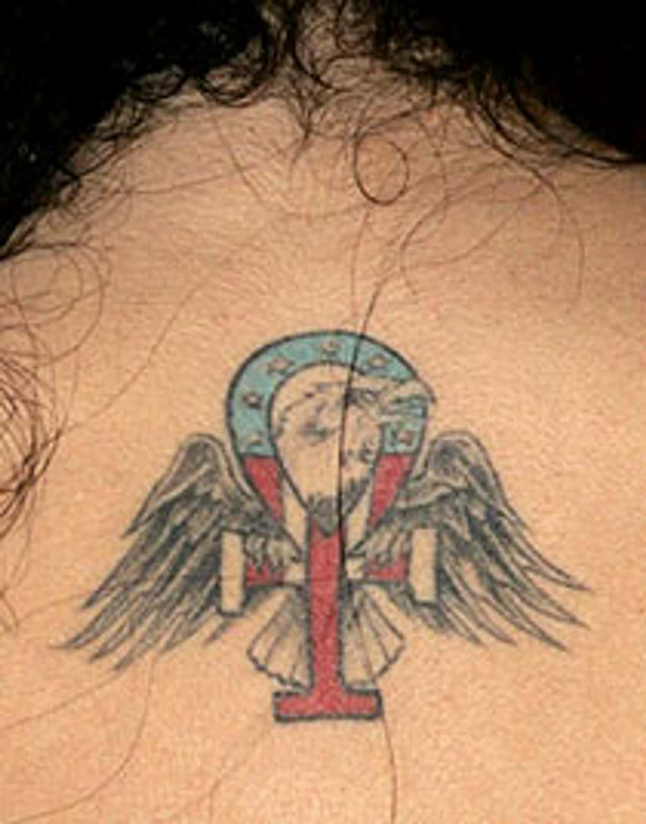 Ankh Eagle is listed (or ranked) 3 on the list Amy Winehouse Tattoos