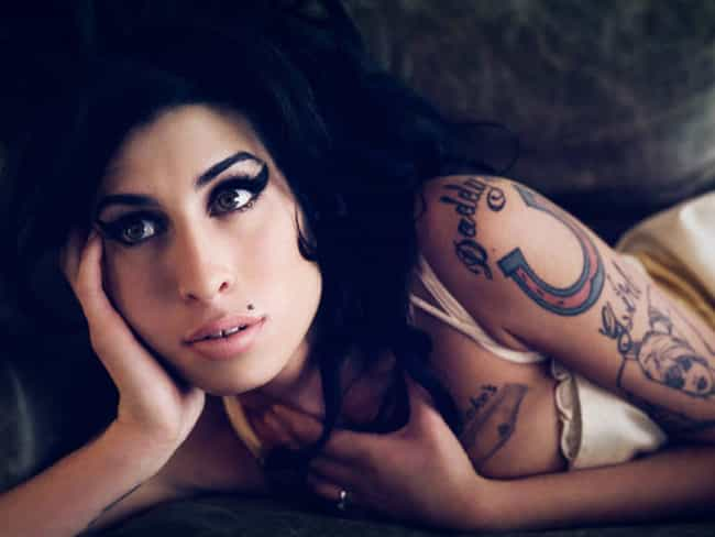 Daddy's Girl is listed (or ranked) 2 on the list Amy Winehouse Tattoos