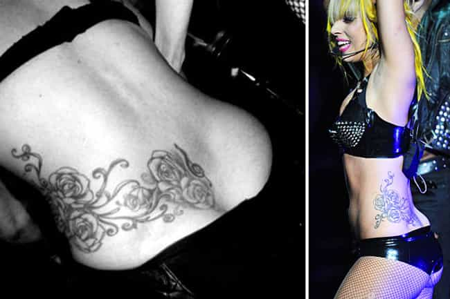 Treble Clef is listed (or ranked) 1 on the list Lady Gaga Tattoos
