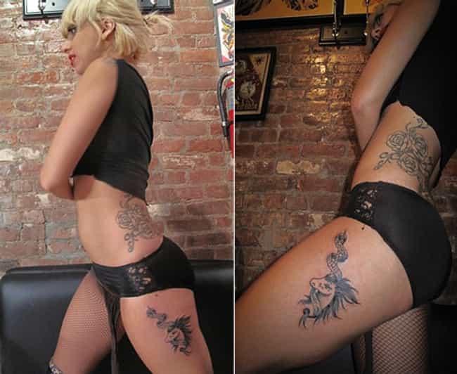 Unicorn Tattoo is listed (or ranked) 4 on the list Lady Gaga Tattoos