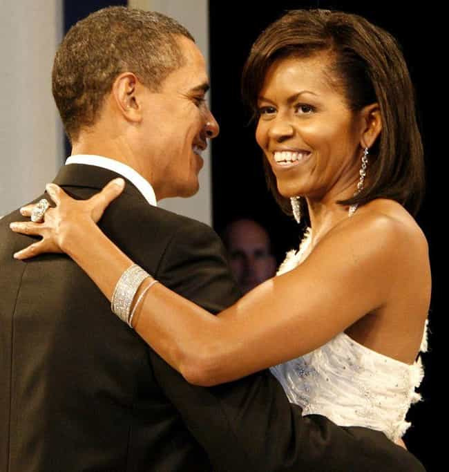 Barack and Michelle Obam... is listed (or ranked) 4 on the list The Most Beautiful Celebrity Couples