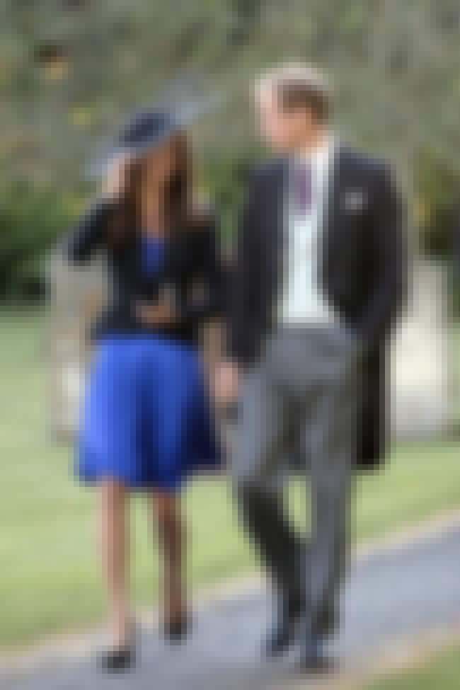 Prince William and Kate Middle... is listed (or ranked) 4 on the list The Most Beautiful Celebrity Couples