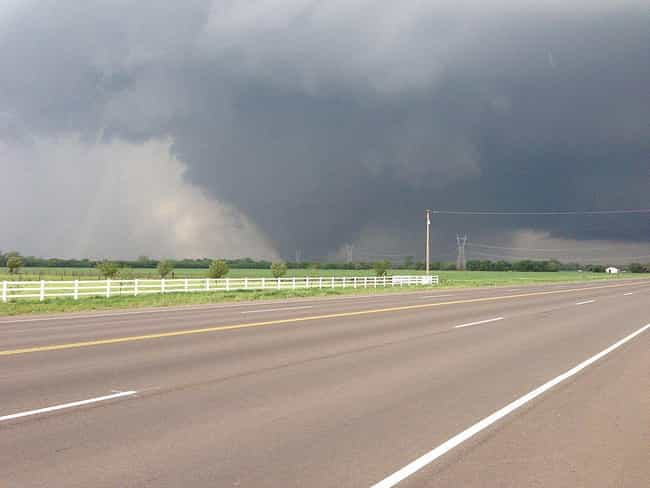 Oklahoma Tornado of 2013 is listed (or ranked) 1 on the list The Worst Tornadoes in History