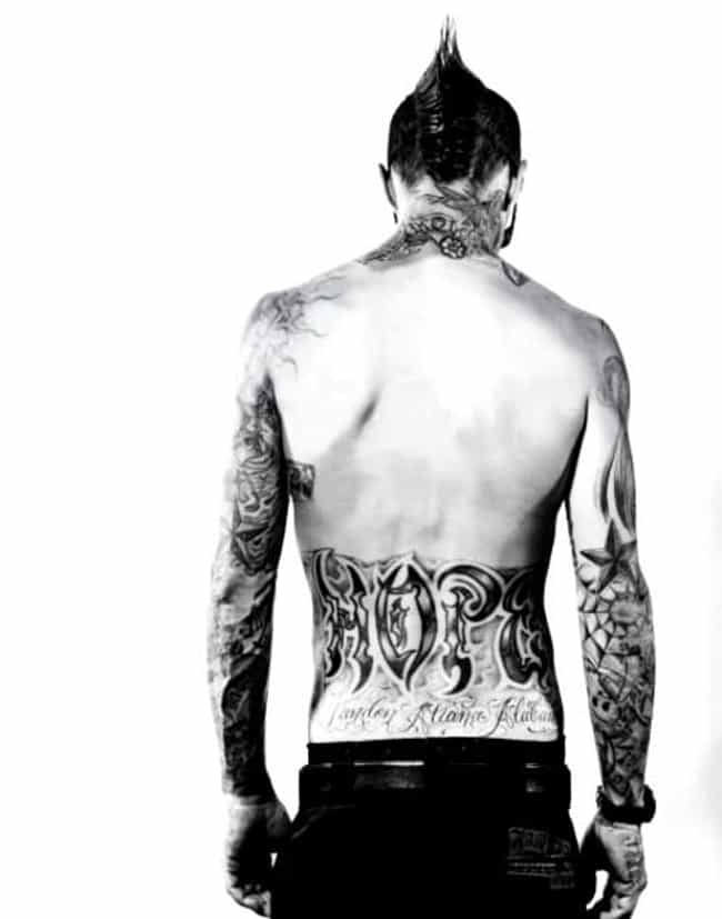 Hope Tattoo is listed (or ranked) 2 on the list Travis Barker Tattoos