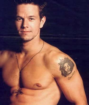 Rosary With Crucifix is listed (or ranked) 1 on the list Mark Wahlberg Tattoos