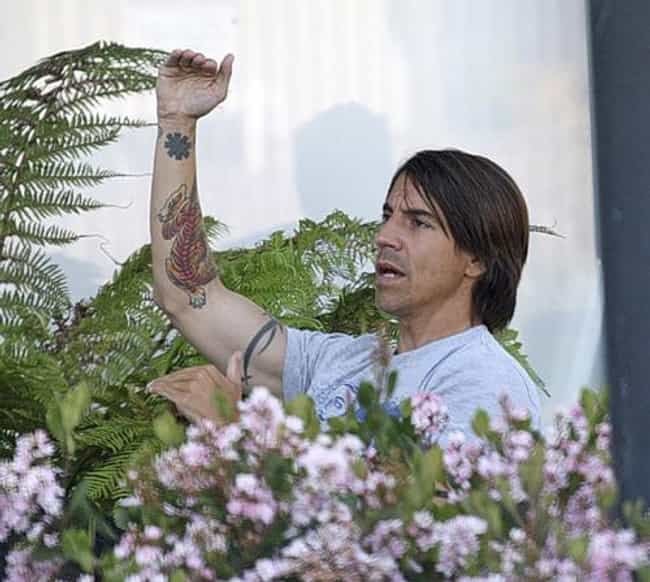 Red Hot Chili Peppers As... is listed (or ranked) 2 on the list Anthony Kiedis Tattoos