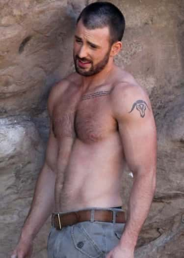 Zodiac Symbol is listed (or ranked) 5 on the list Chris Evans Tattoos