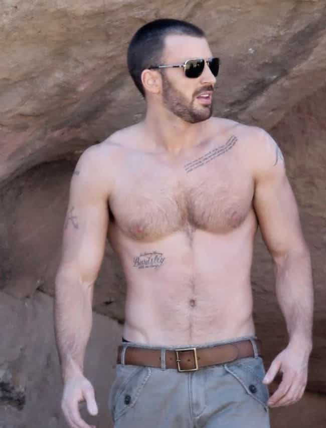 Buddhist Teaching Tattoo is listed (or ranked) 4 on the list Chris Evans Tattoos