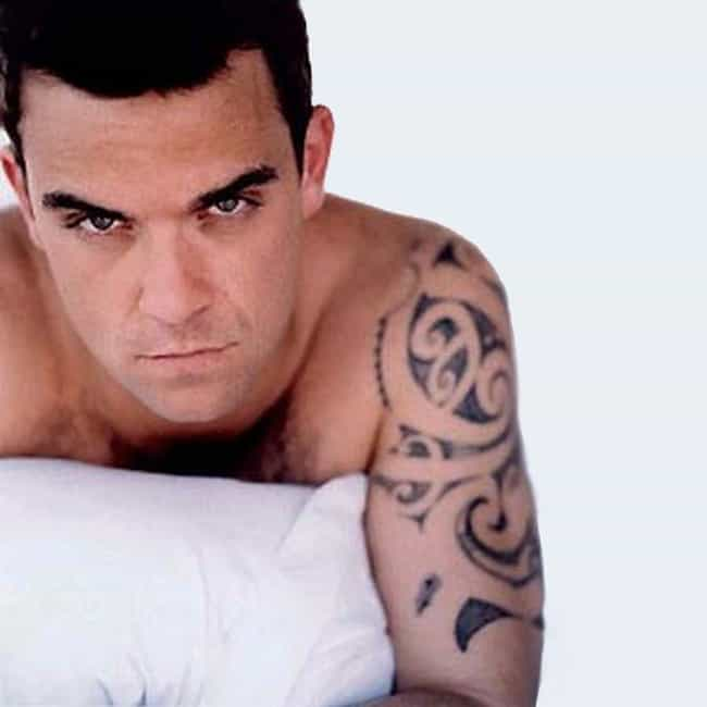 Maori Tribal is listed (or ranked) 1 on the list Robbie Williams Tattoos