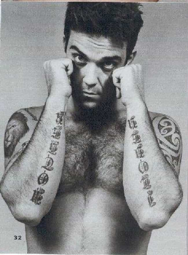 I Love You is listed (or ranked) 4 on the list Robbie Williams Tattoos