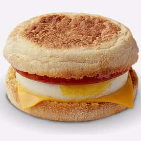McDonald's Egg McMuffin is listed (or ranked) 9 on the list The Healthiest Fast Food Choices in America