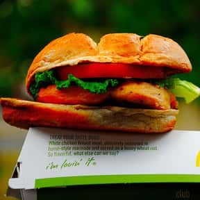 McDonald's Premium Grilled Chi is listed (or ranked) 18 on the list The Healthiest Fast Food Choices in America