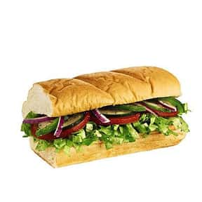 """Subway 6"""" Veggie Delight is listed (or ranked) 10 on the list The Healthiest Fast Food Choices in America"""