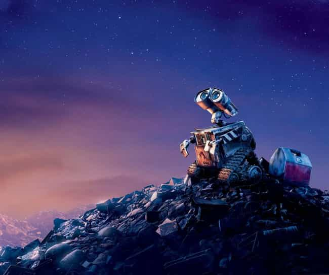 Space in Space is listed (or ranked) 4 on the list Wall - E Movie Quotes