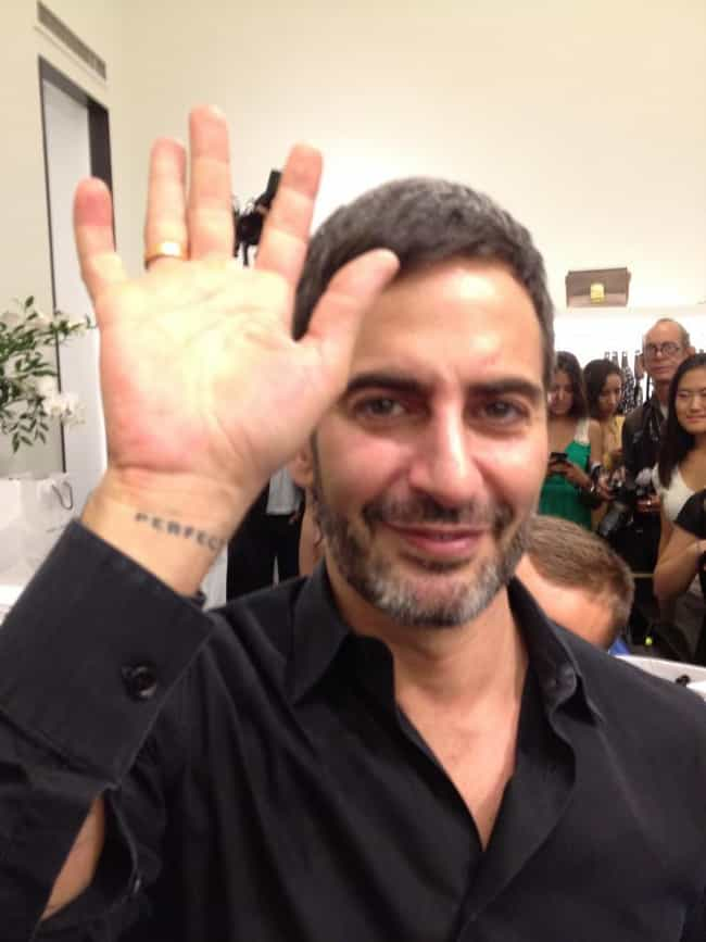 Perfect is listed (or ranked) 2 on the list Marc Jacobs Tattoos