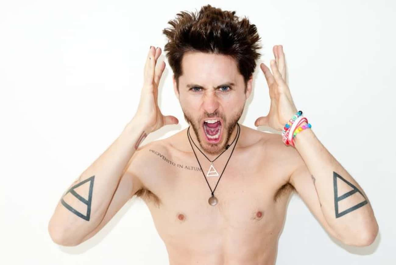 Alchemy Triangles is listed (or ranked) 1 on the list Jared Leto Tattoos