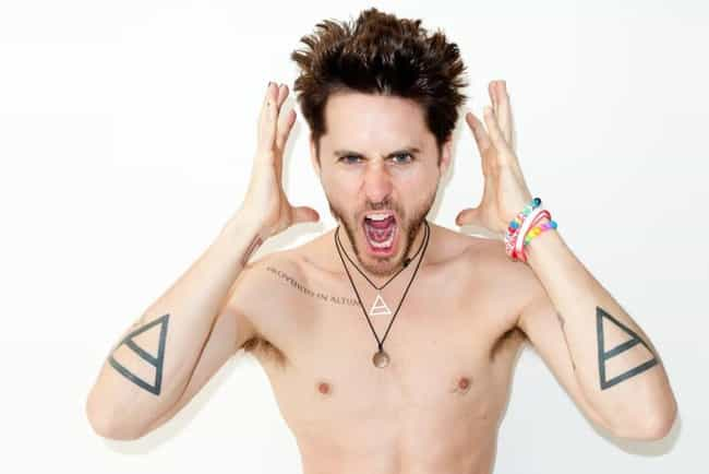 Alchemy Triangles is listed (or ranked) 2 on the list Jared Leto Tattoos