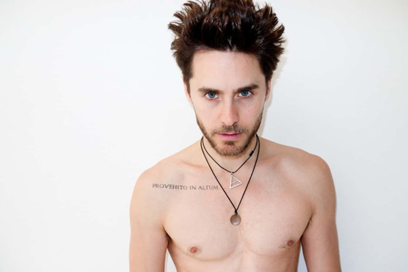 Provehito In Altum is listed (or ranked) 2 on the list Jared Leto Tattoos
