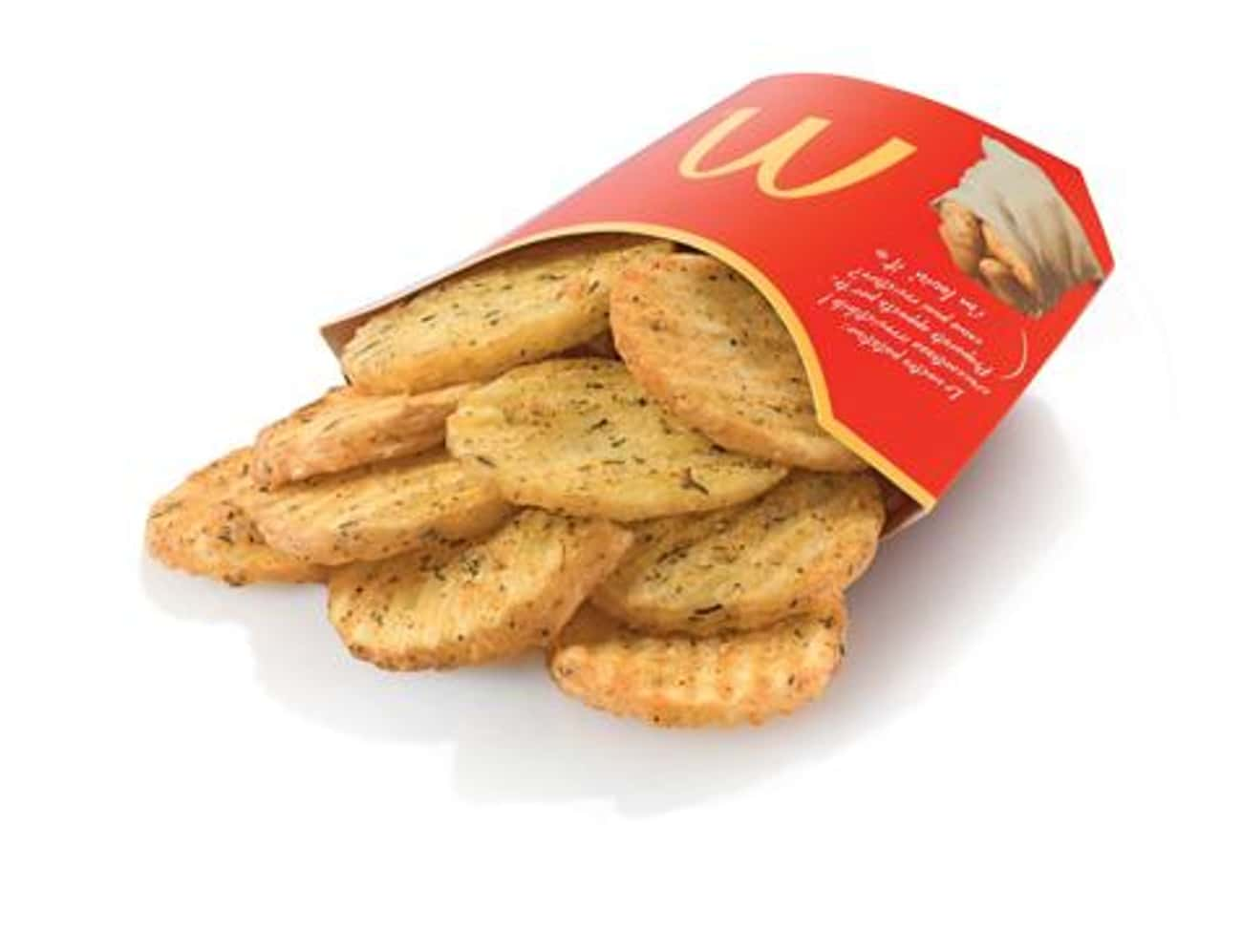Slice Chips is listed (or ranked) 2 on the list 25 Awesome McDonald's Dishes You Can't Buy in America