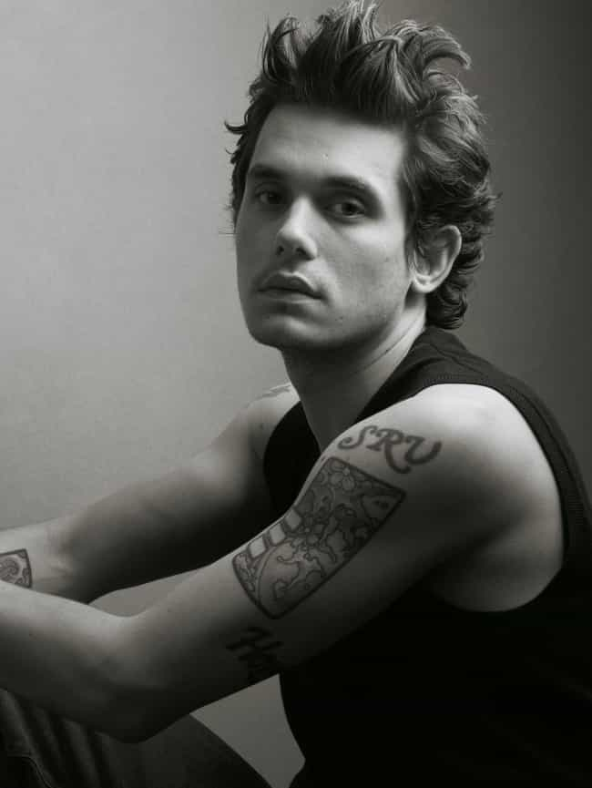 SRV Tattoo is listed (or ranked) 4 on the list John Mayer Tattoos