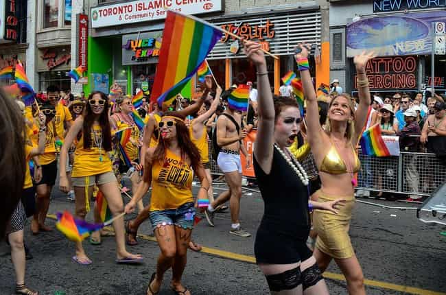 Pride Toronto is listed (or ranked) 4 on the list The World's Best LGBTQ+ Pride Festivals