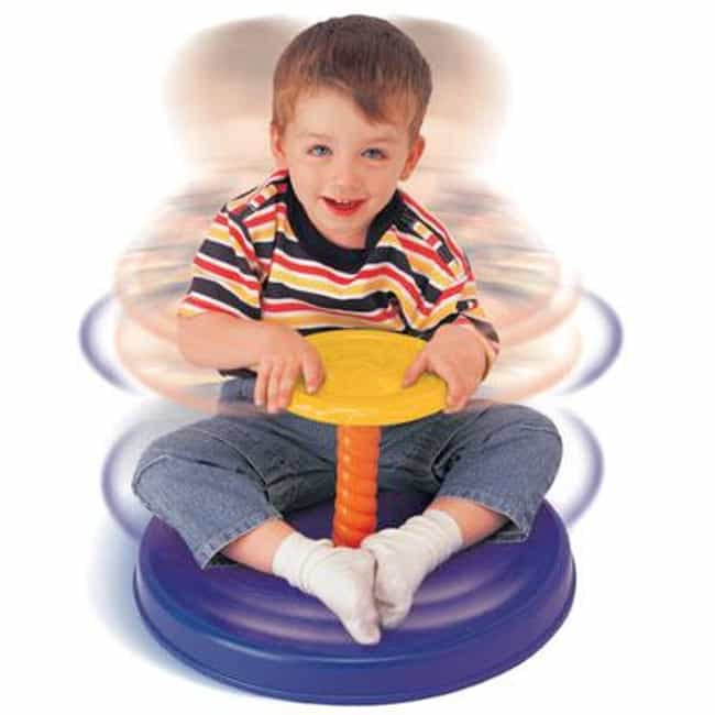 Sit 'n Spin is listed (or ranked) 4 on the list 23 Annoying Toys That Prove Your Parents Loved You